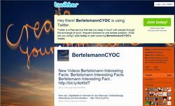 Bertelsmann Twitter