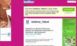 Unilever Twitter