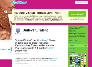 Twitter Unilever