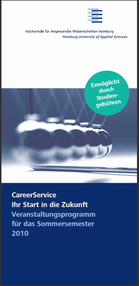 Programm SoSe2010-CareerService der HAW Hamburg