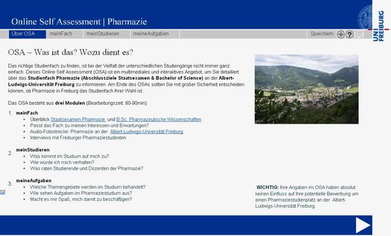 OSA Pharmazie Freiburg