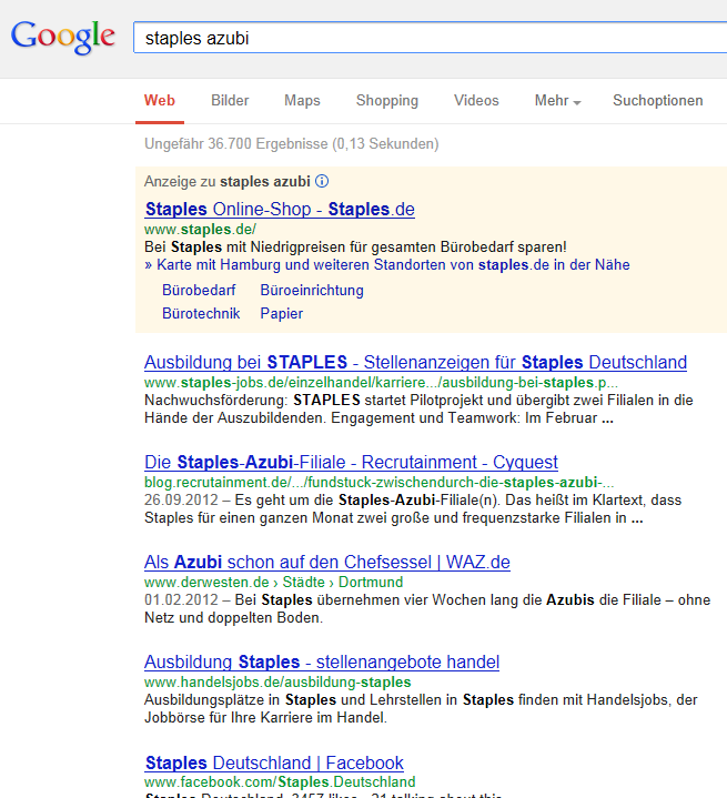 Staples_Azubi_Filiale_Google