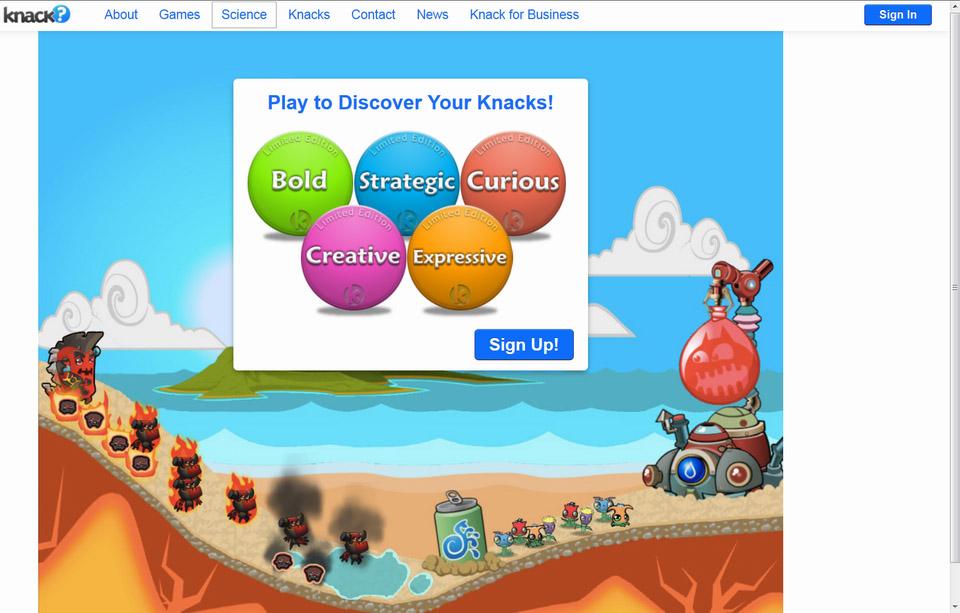 Knack_it_Startscreen