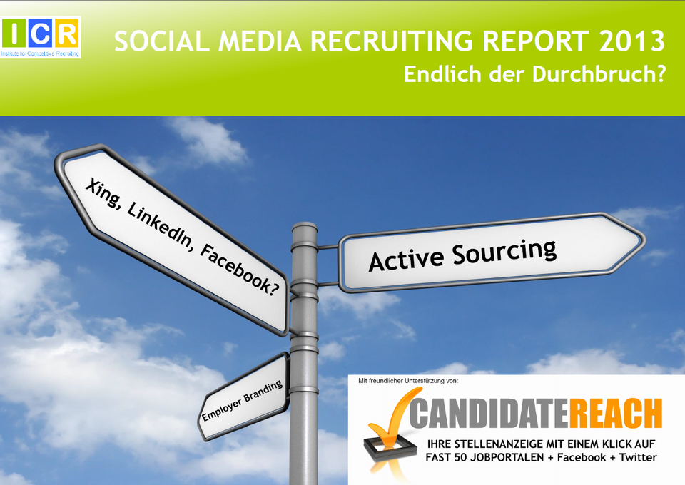 SocialMediaRecruitingReport2013_Titel