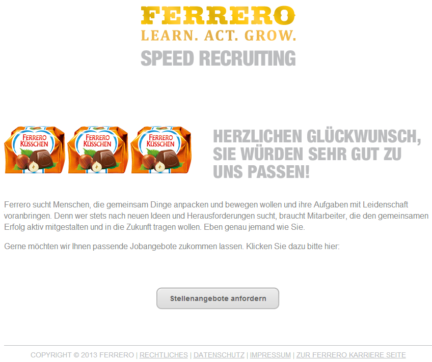 Speedrecruiting_Ferrero_gutePassung