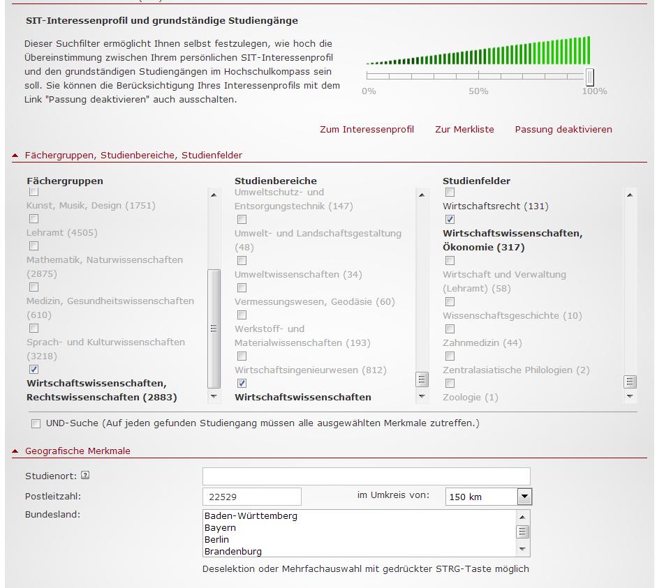 Hochschulkompass_Studiengangssuche_Filter_3