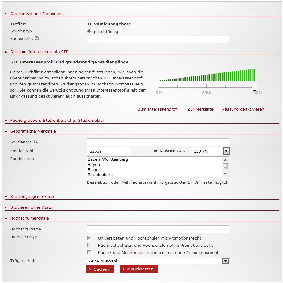 Hochschulkompass_Studiengangssuche_Filter_4