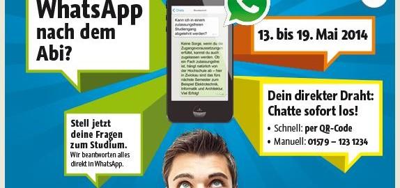WhatsApp nach dem Abi