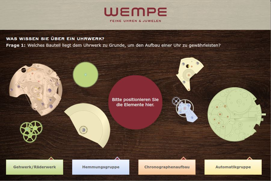 Wempe_Uhrmachertest