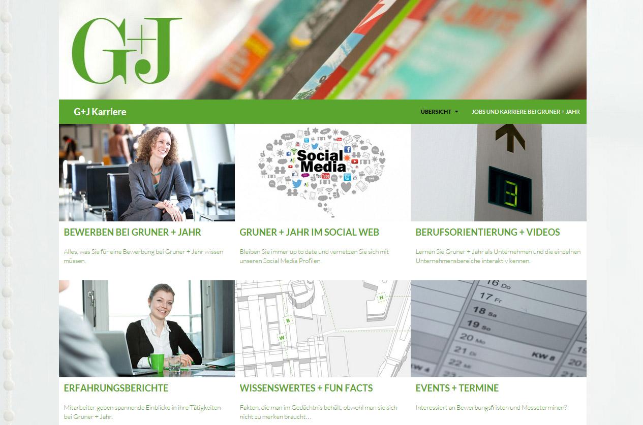 Gruner Jahr Mit Neuer Karriere Informationsplattform Am Start