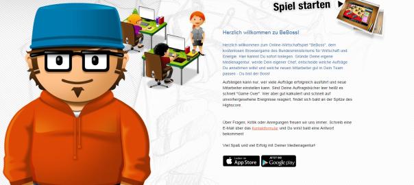 BeBoss Homepage