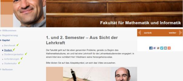 Videointerview-Lehrer-Mathematikstudium