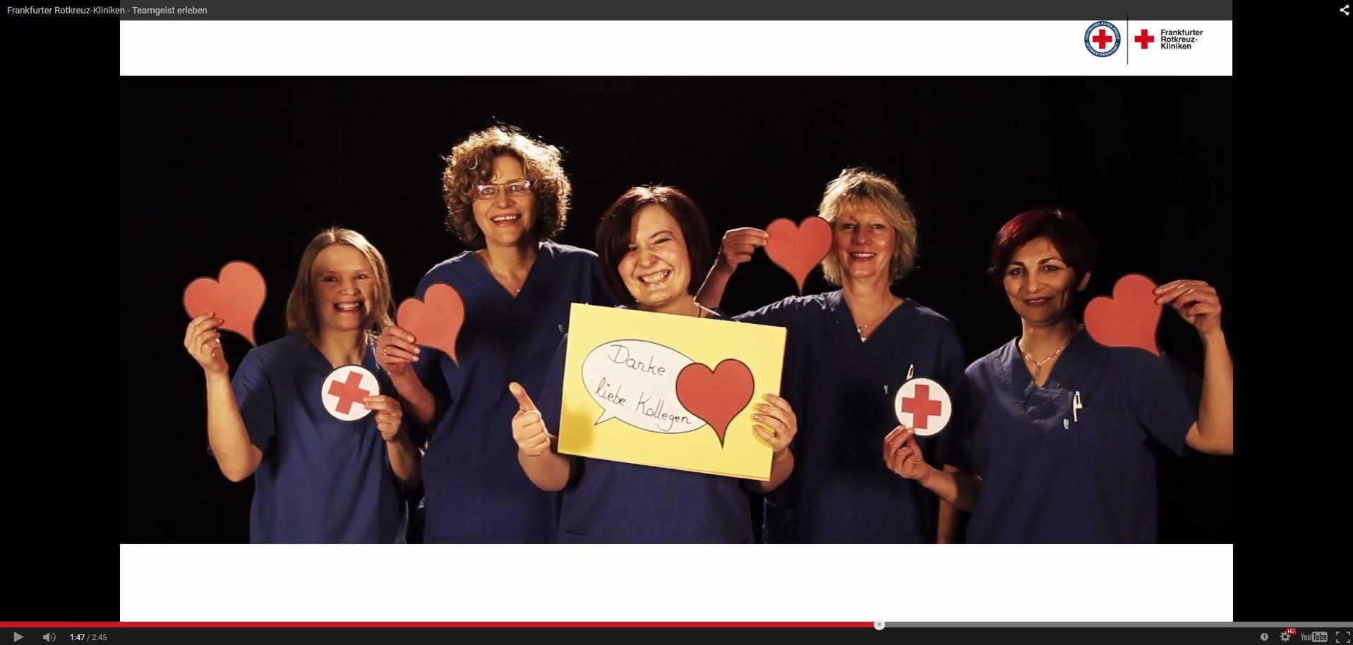 Imagevideo der Rotkreuz-Kliniken