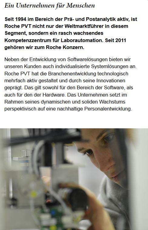 Roche PVT Employer Branding