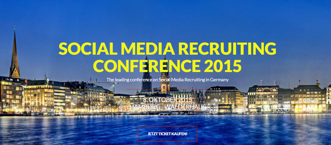 Social media recruiting conference 2015