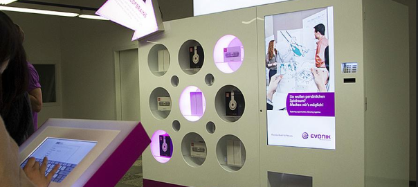 Vending Machine Battle of Brains Evonik OMD Germany