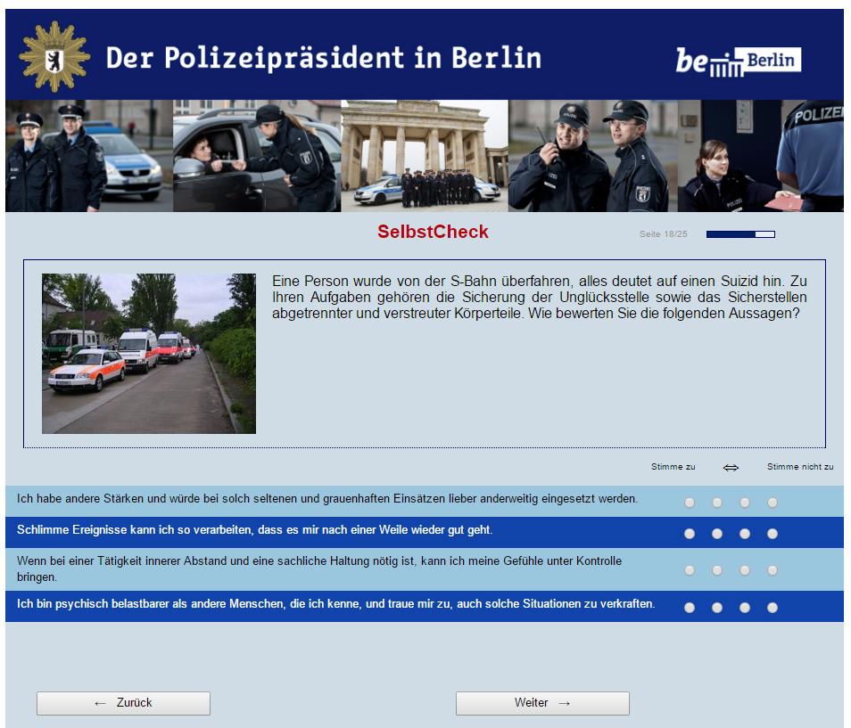 polizei berlin bewerbung