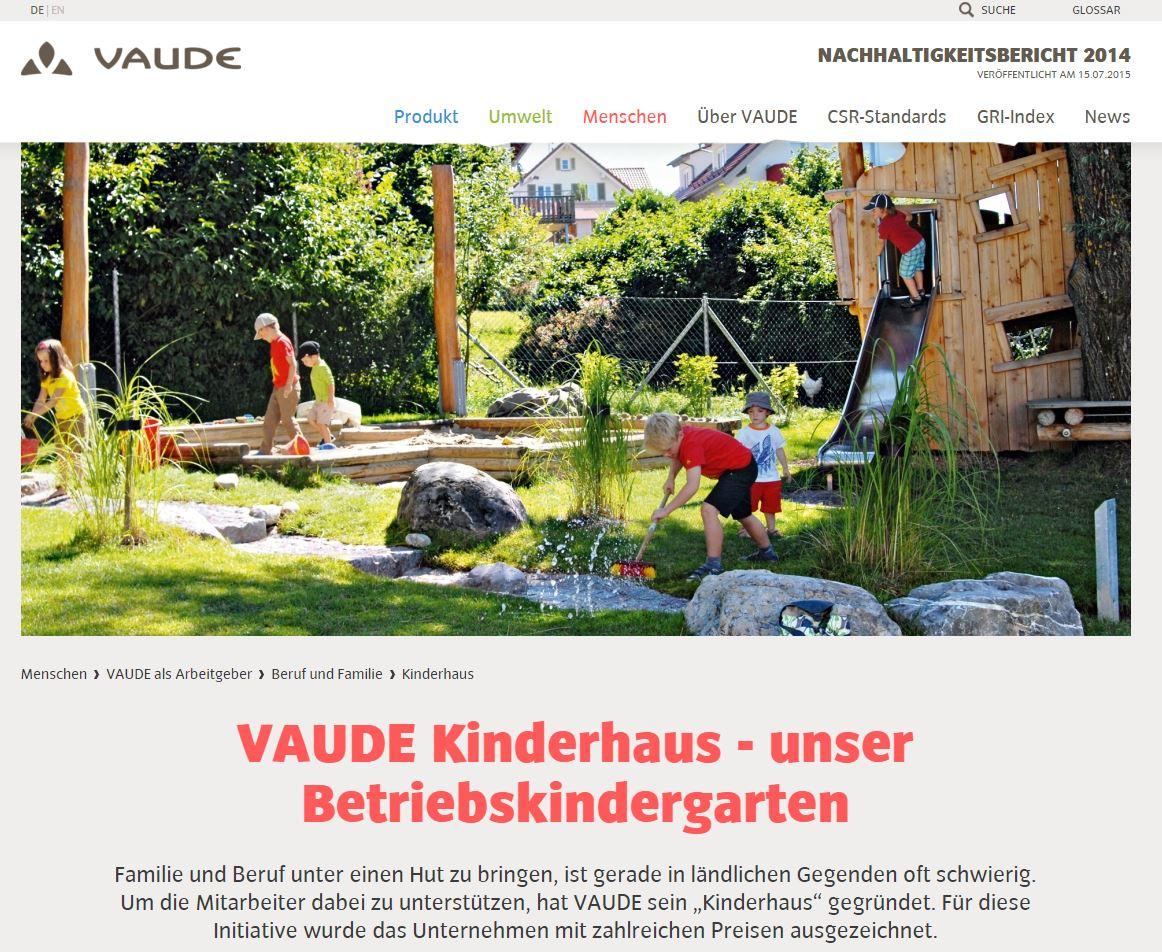 VAUDE_Kinderhaus