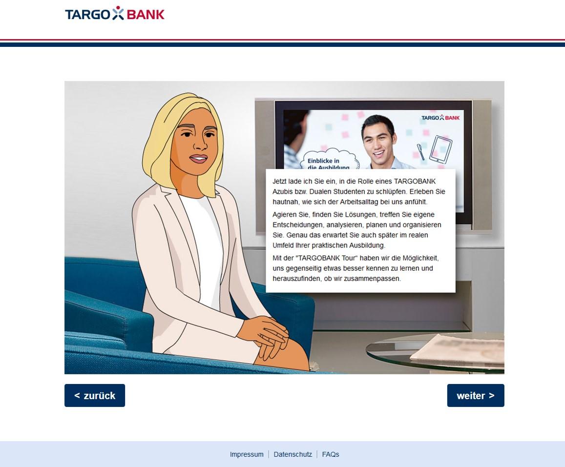 Bewerbung Targobank Mitarbeiterblog