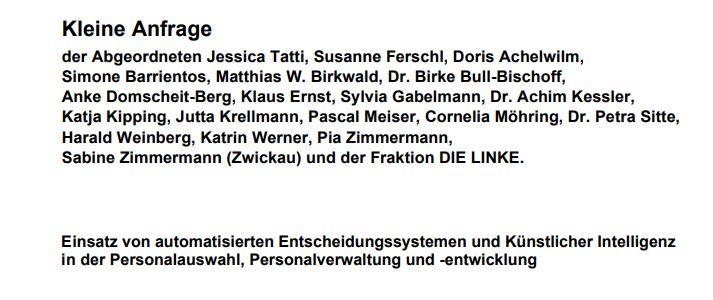 Thumbnail of https://blog.recrutainment.de/2019/08/26/kleine-anfrage-an-die-bundesregierung-zu-wichtigen-juristischen-und-ethischen-fragen-des-roborecruitings/
